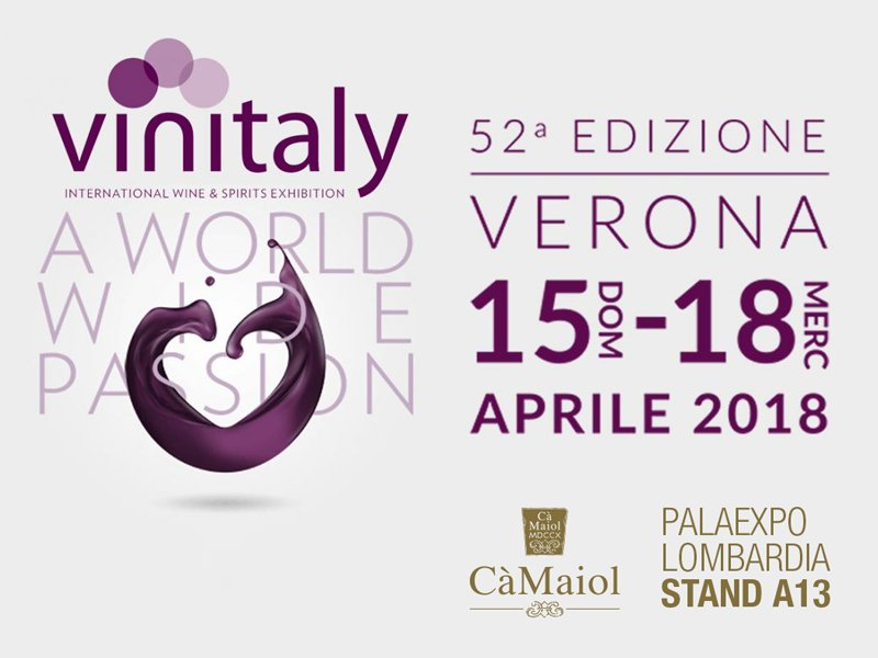 Cà Maiol at Vinitaly 2018